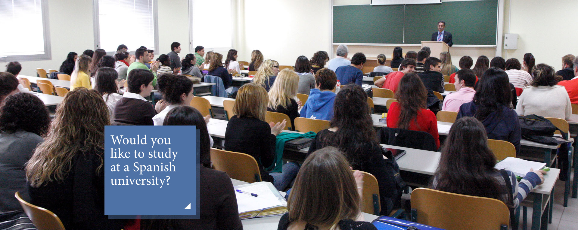 Would you like to study at a Spanish university?